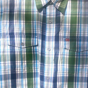 QUICKSILVER Short sleeved collared shirt Men Lg